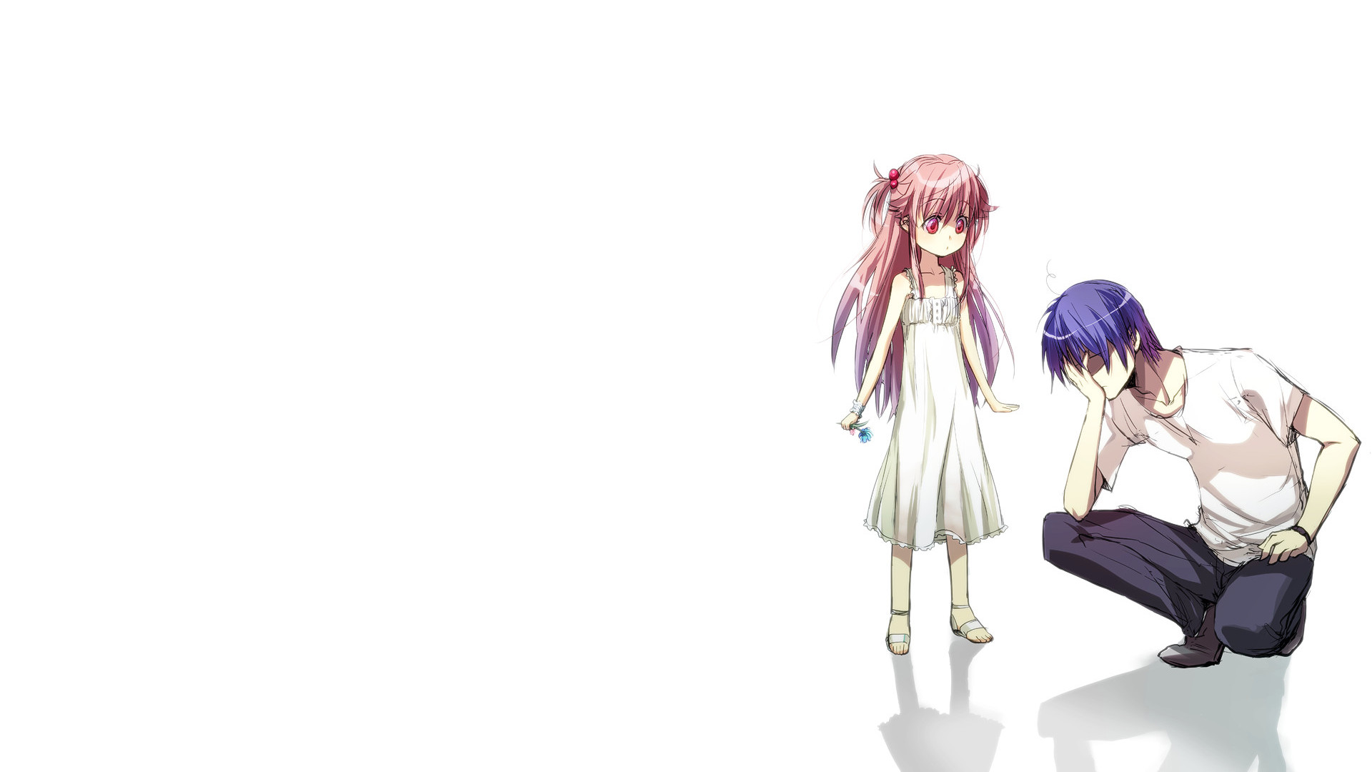 Angel beats full hd wallpaper and background image 1920x1080 yui angel beats hinata hideki wallpaper voltagebd Gallery