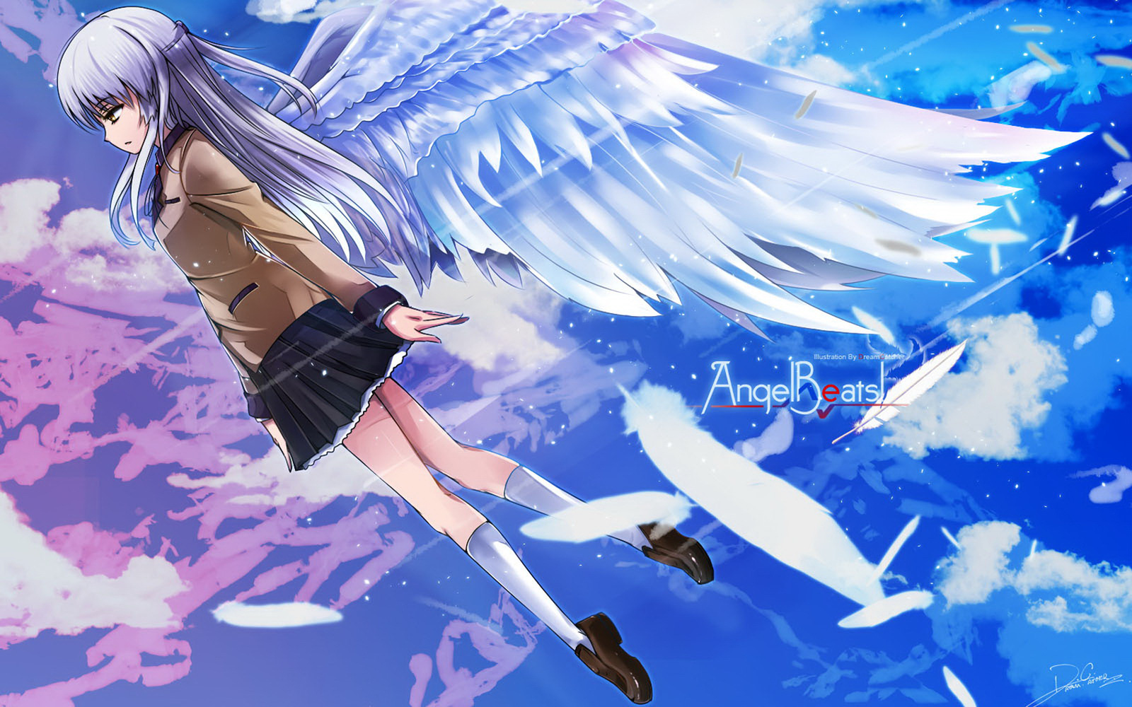 angel beats iphone wallpaper hd