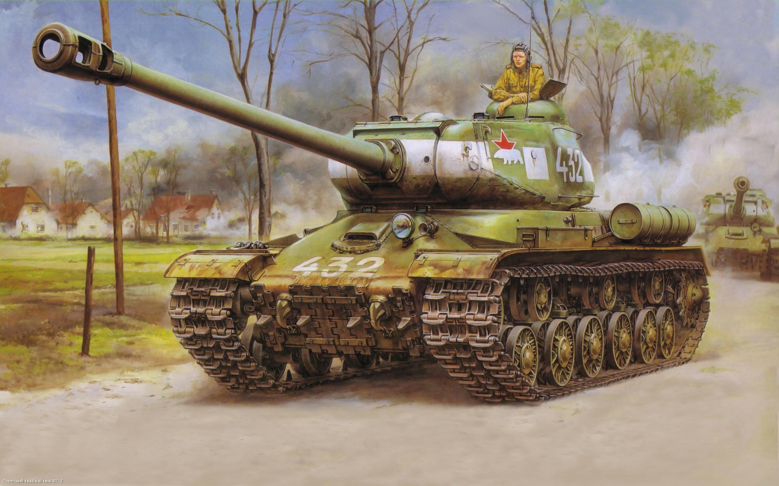 Custom Silk Photo Wallpaper Hd Military Tank Wall: IS Tank Family HD Wallpaper