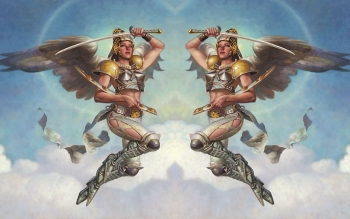 Fantasy - Angel Warrior Wallpapers and Backgrounds ID : 26003