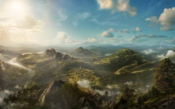 Fantasy - Landschaft Wallpapers and Backgrounds ID : 260561