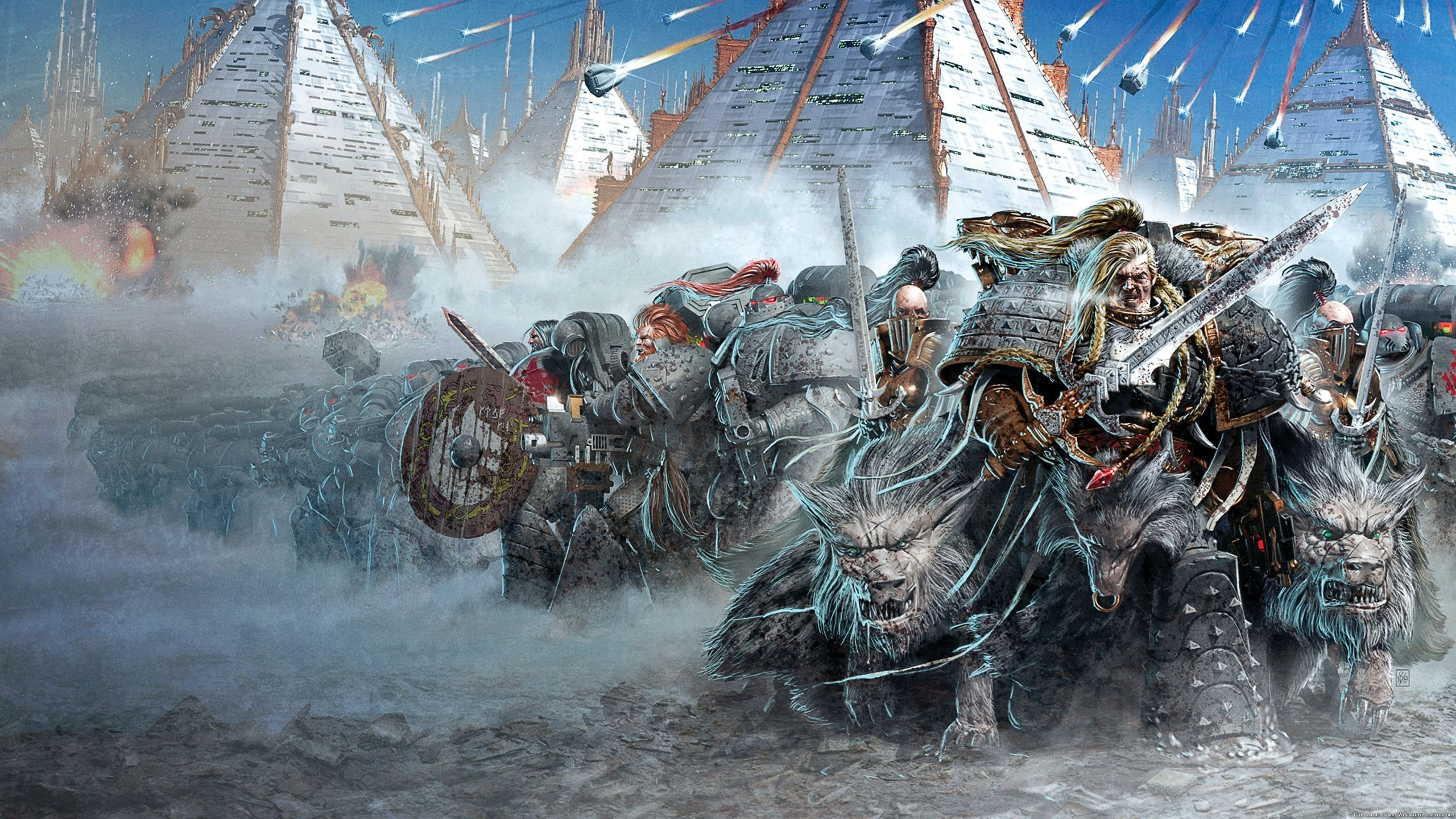 Warhammer Full HD Wallpaper And Background Image