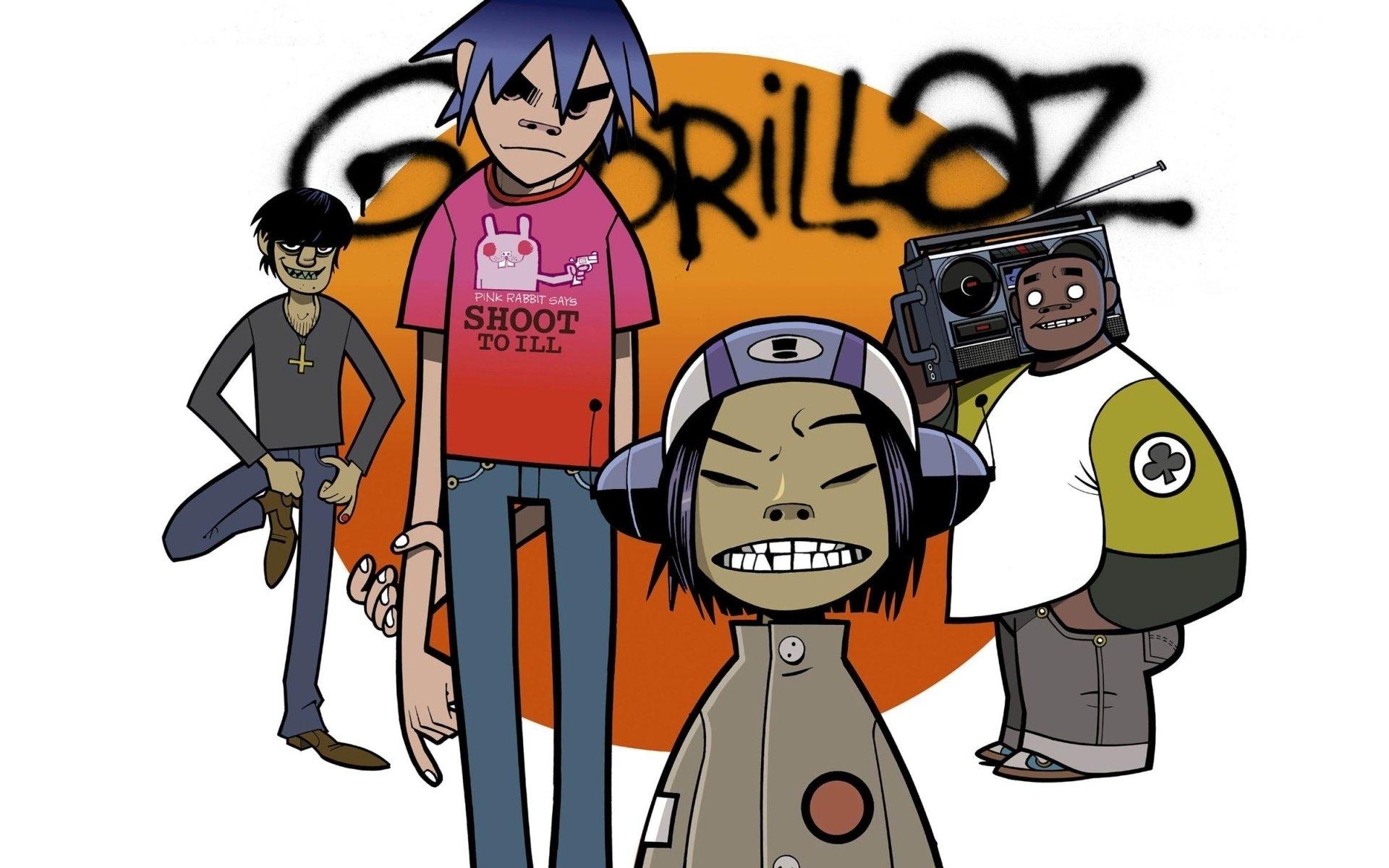 81 Gorillaz HD Wallpapers