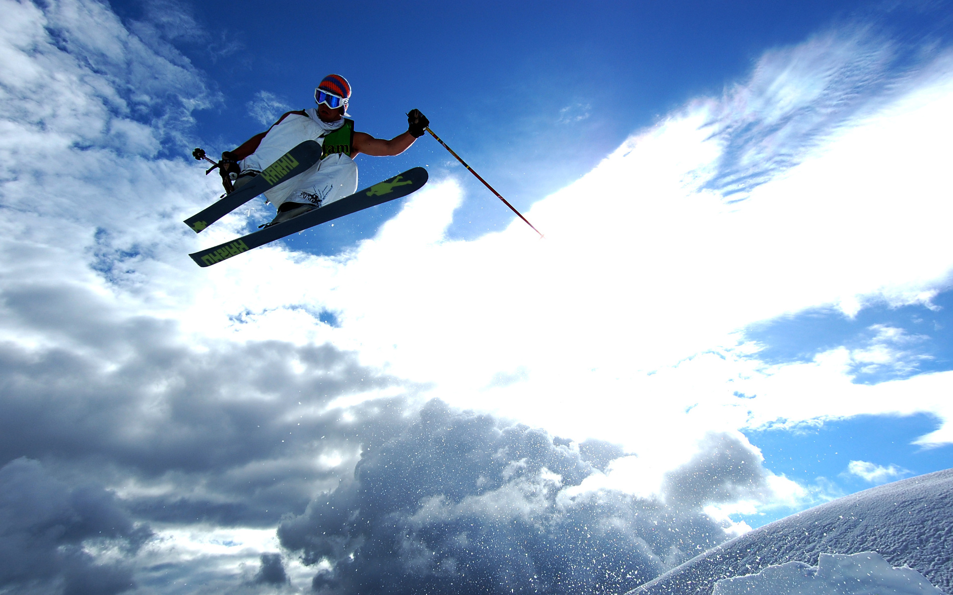 skiing full hd wallpaper and background image 1920x1200