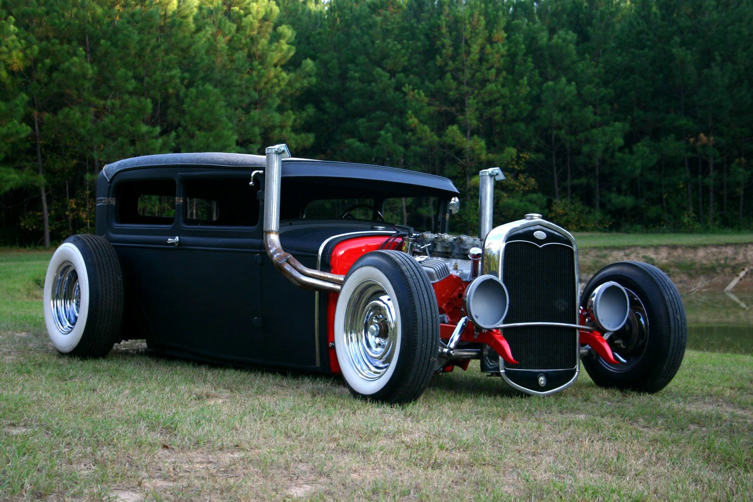 Rat Rod Wallpaper And Background
