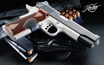 Weapons - Kimber Pistol Wallpapers and Backgrounds ID : 263401