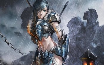 Género Fantástico - Women Warrior Wallpapers and Backgrounds ID : 263623