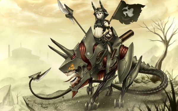 Anime Pixiv Fantasia V Creature Robot Original HD Wallpaper | Background Image