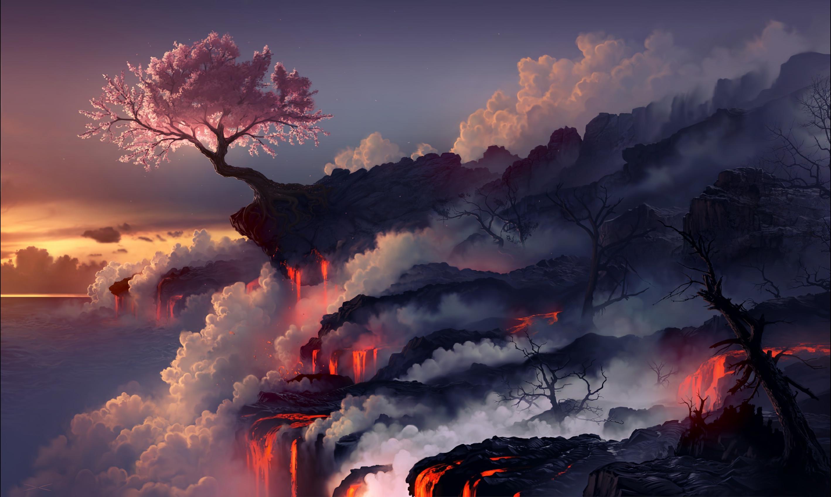 46 sakura blossom hd wallpapers background images - Fantasy desktop pictures ...