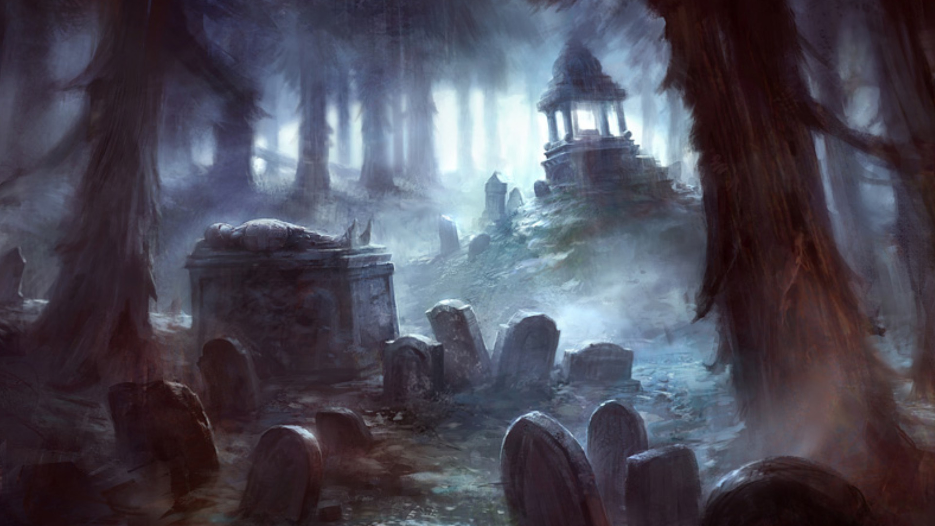 cemetery full hd wallpaper and background image