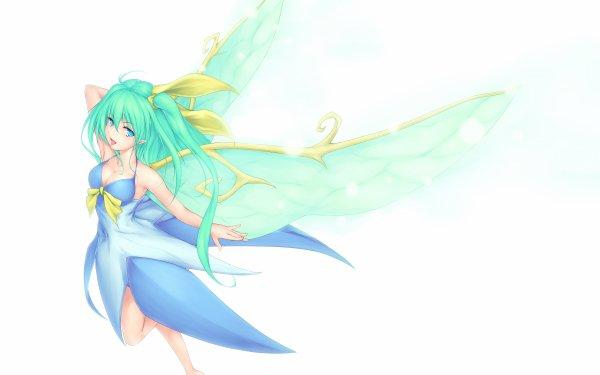 Anime Touhou Daiyousei HD Wallpaper | Background Image