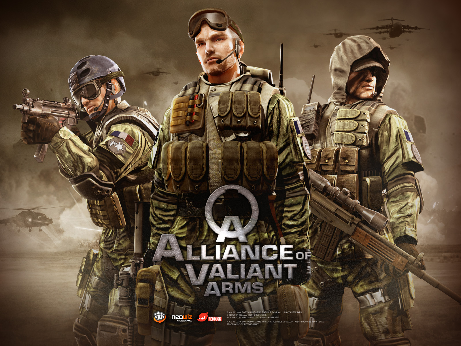 A.V.A. Alliance of Valiant Arms End of Mission
