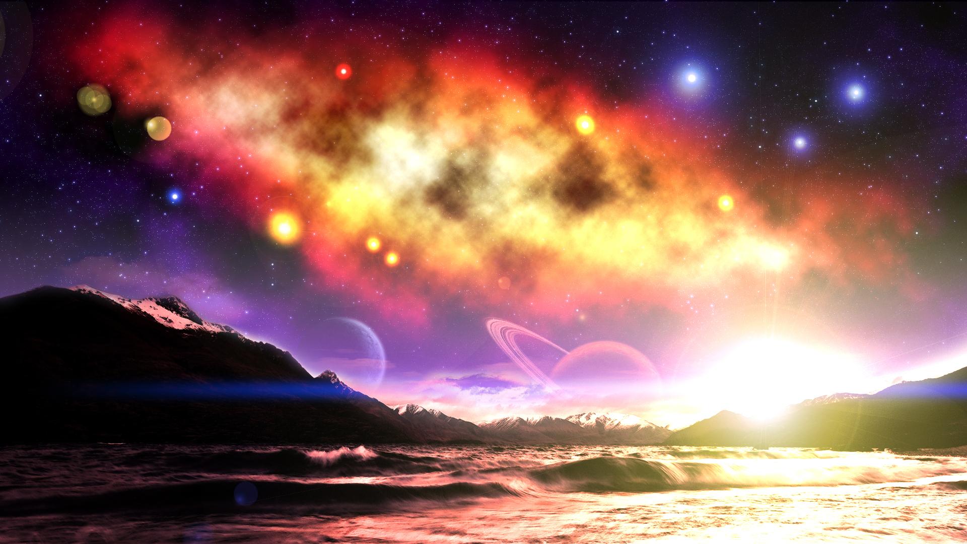 planets nature 1920x1080 - photo #13
