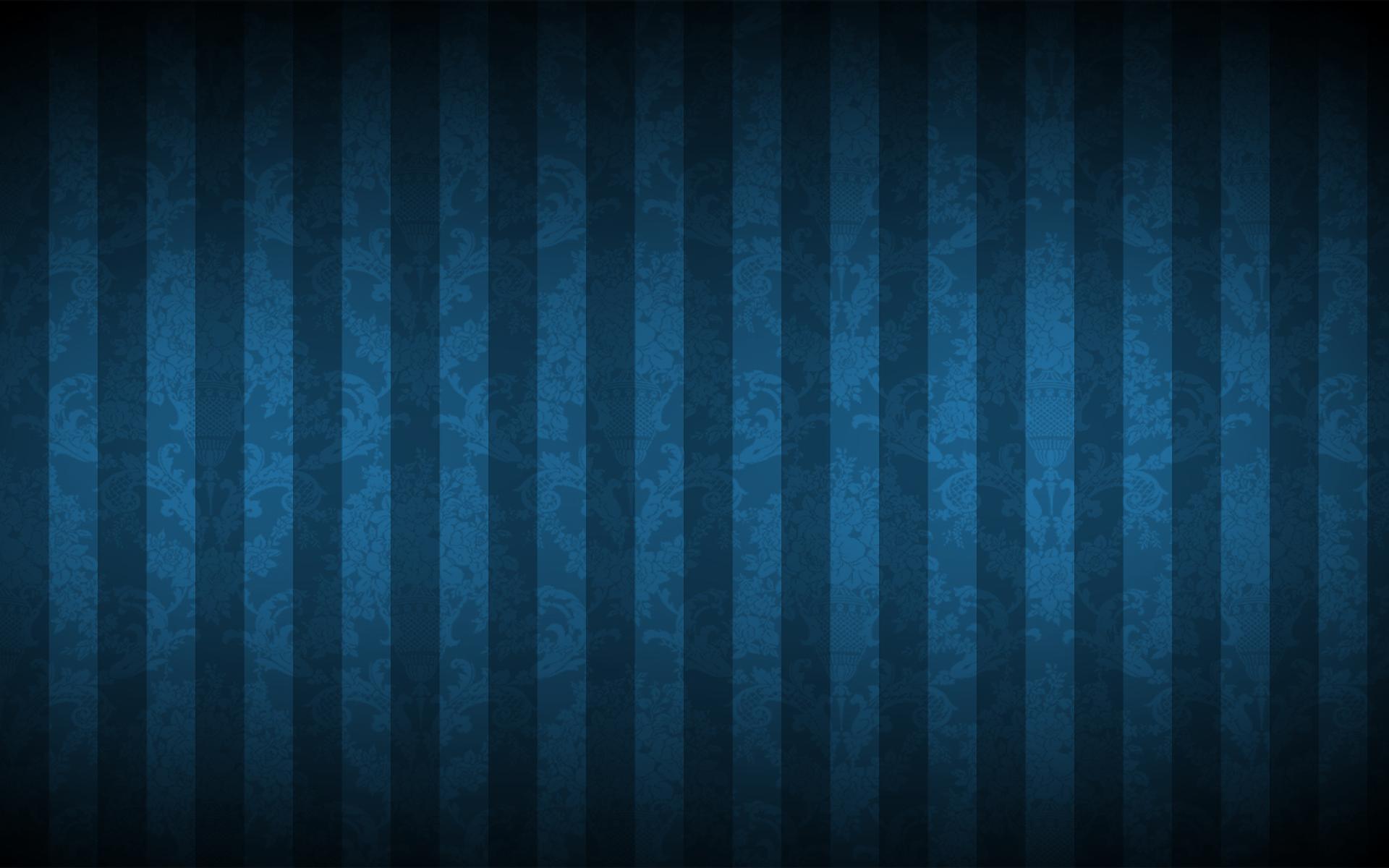 Abstracto - Stripes  Azul Patrón Abstracto Arte digital Fondo de Pantalla