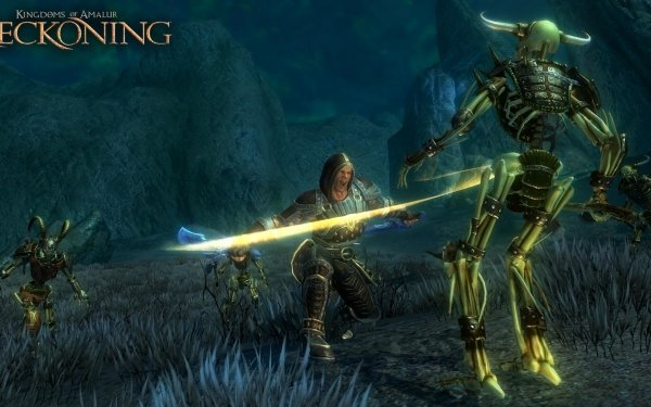 Video Game Kingdoms Of Amalur: Reckoning Kingdoms Of Amalur Skeleton Reckoning HD Wallpaper   Background Image