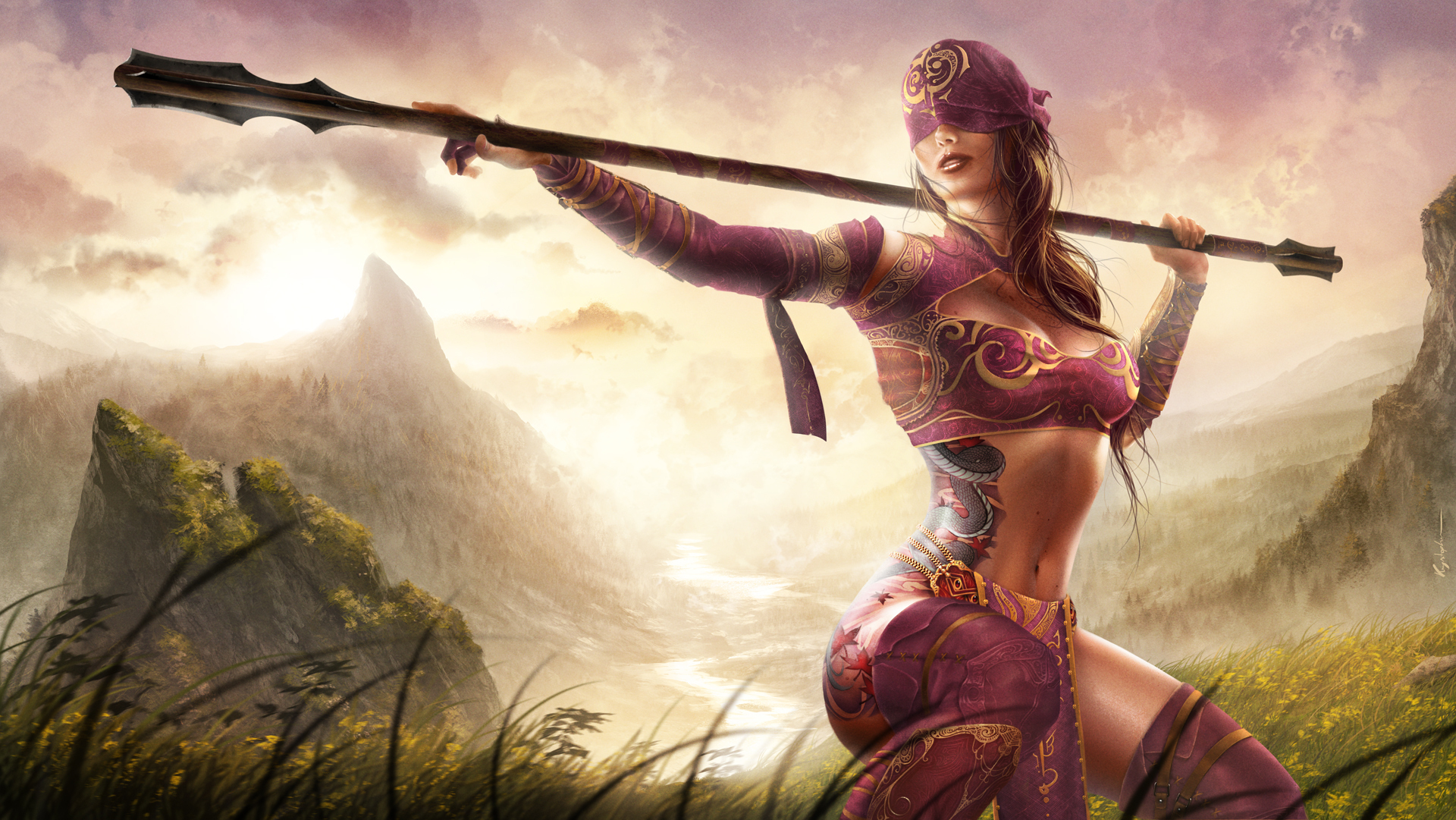 Women Warrior Full Hd Wallpaper And Background Image -3852