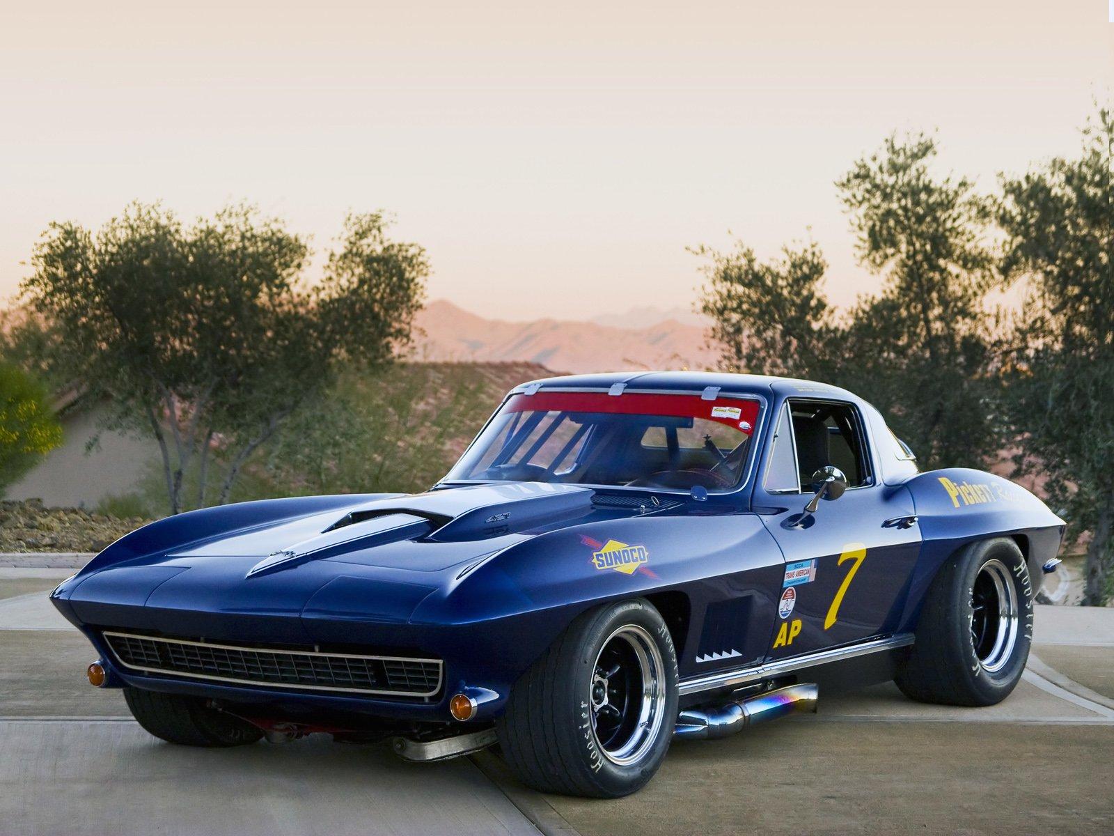 Corvette Sting Ray 427 L88 Trans-Am Race Car (C2) \'1967 Wallpaper ...