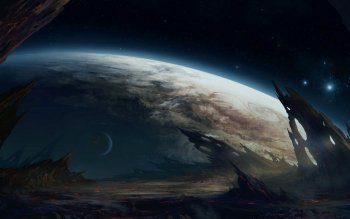 Sci Fi - Planet Rise Wallpapers and Backgrounds ID : 269441