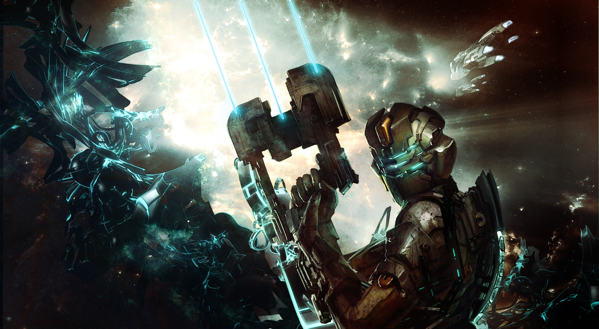 Dead space 2 hd wallpaper background image 2000x1100 - Dead space mobile wallpaper ...