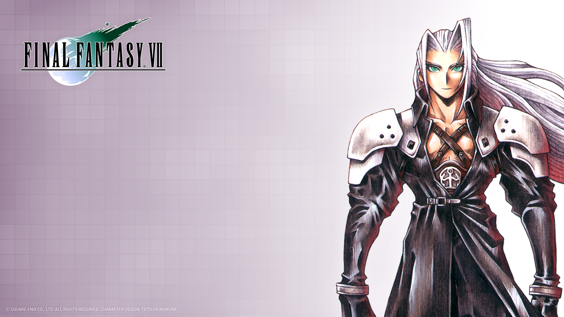 Sephiroth Ffvii Official Wallpaper Hd Wallpaper Background Image