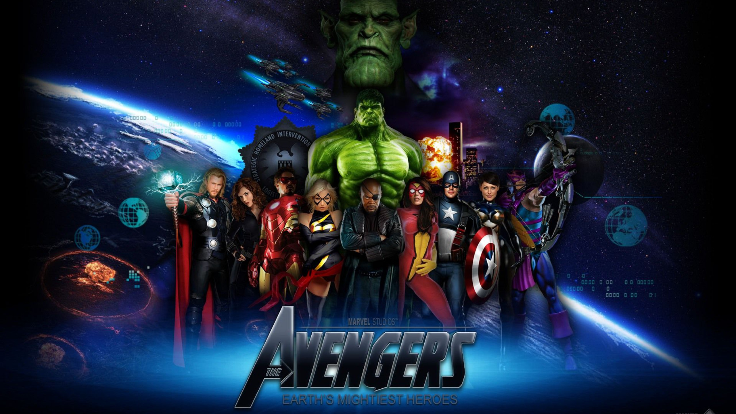 The Avengers Earth s Mightiest Heroes Full HD Wallpaper and