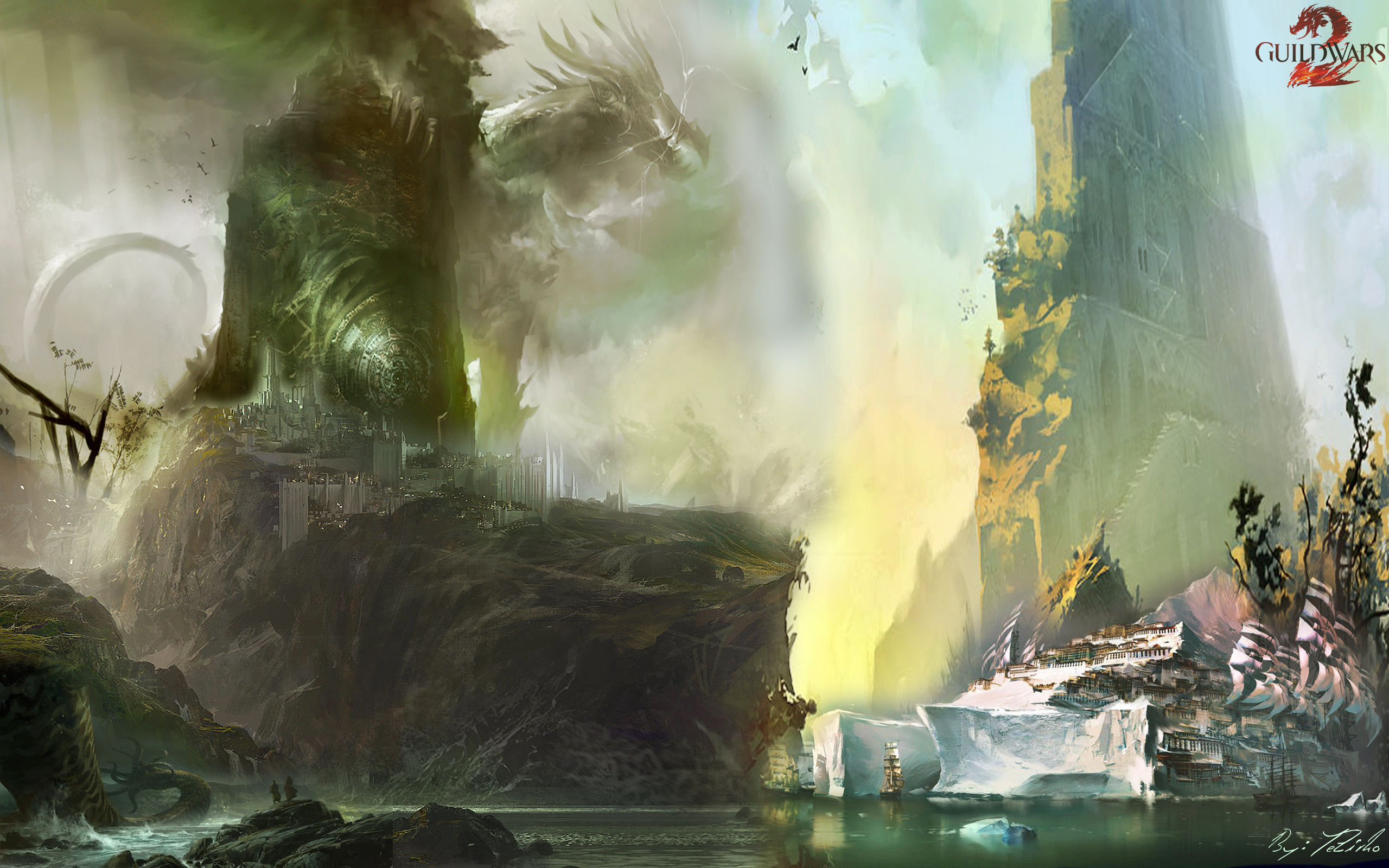 Guild Wars 2 Hd Wallpaper Background Image 2560x1600 Id