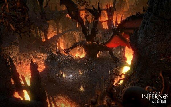 Videojuego Dante's Inferno Hell Fuego Fondo de pantalla HD | Fondo de Escritorio
