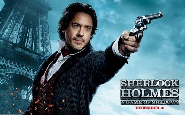 Movie Sherlock Holmes: A Game of Shadows Sherlock Holmes Robert Downey Jr. HD Wallpaper   Background Image