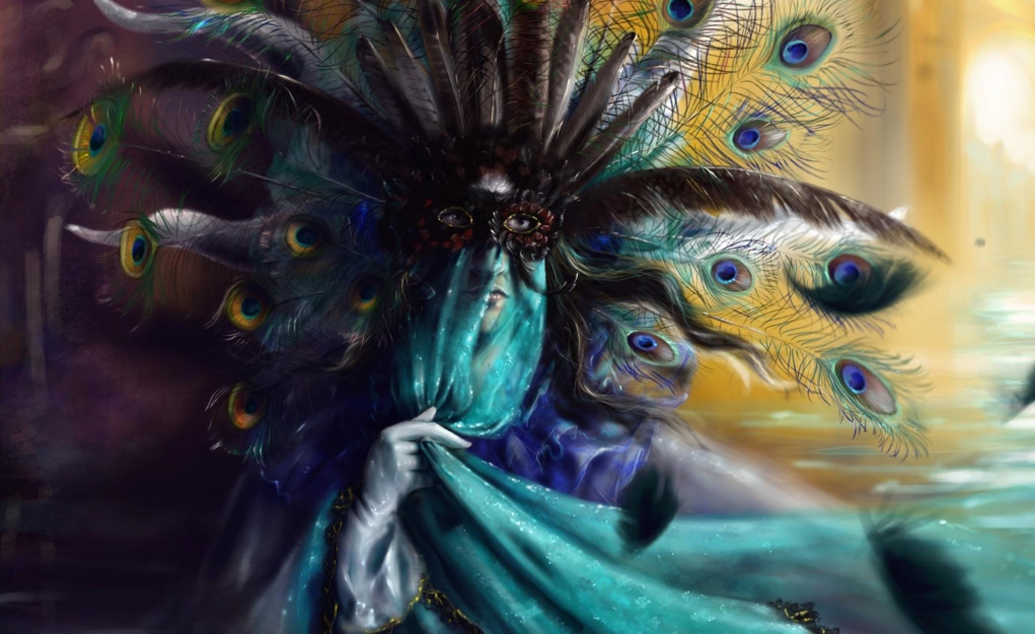 Mask Masquerade Photo wallpaper x