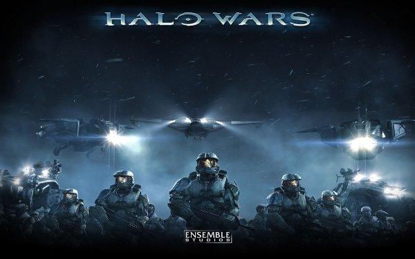 Video Game Halo Wars Halo Spaceship HD Wallpaper | Background Image