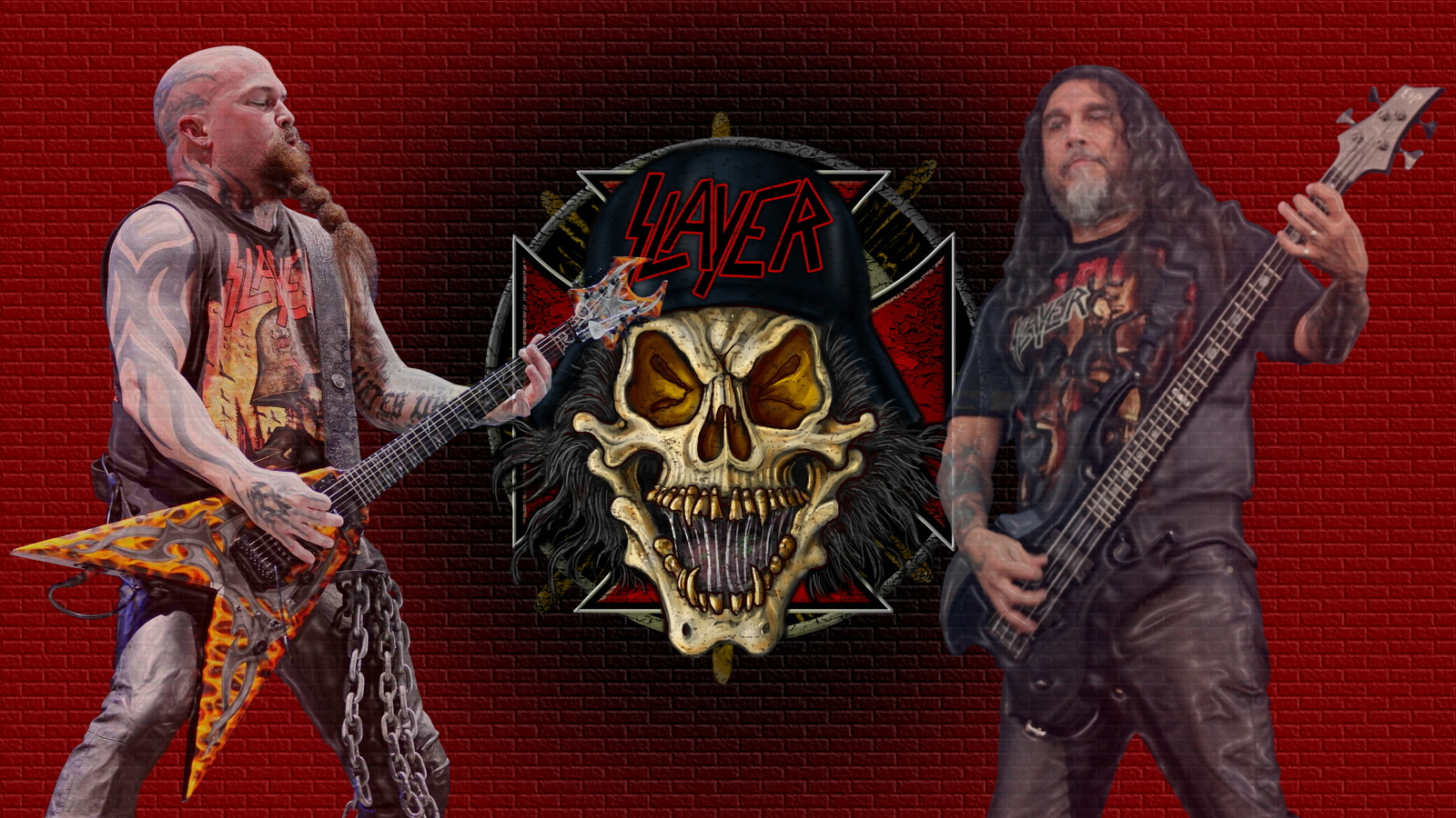 Slayer wallpaper and background image 1600x900 id - Death metal wallpaper ...