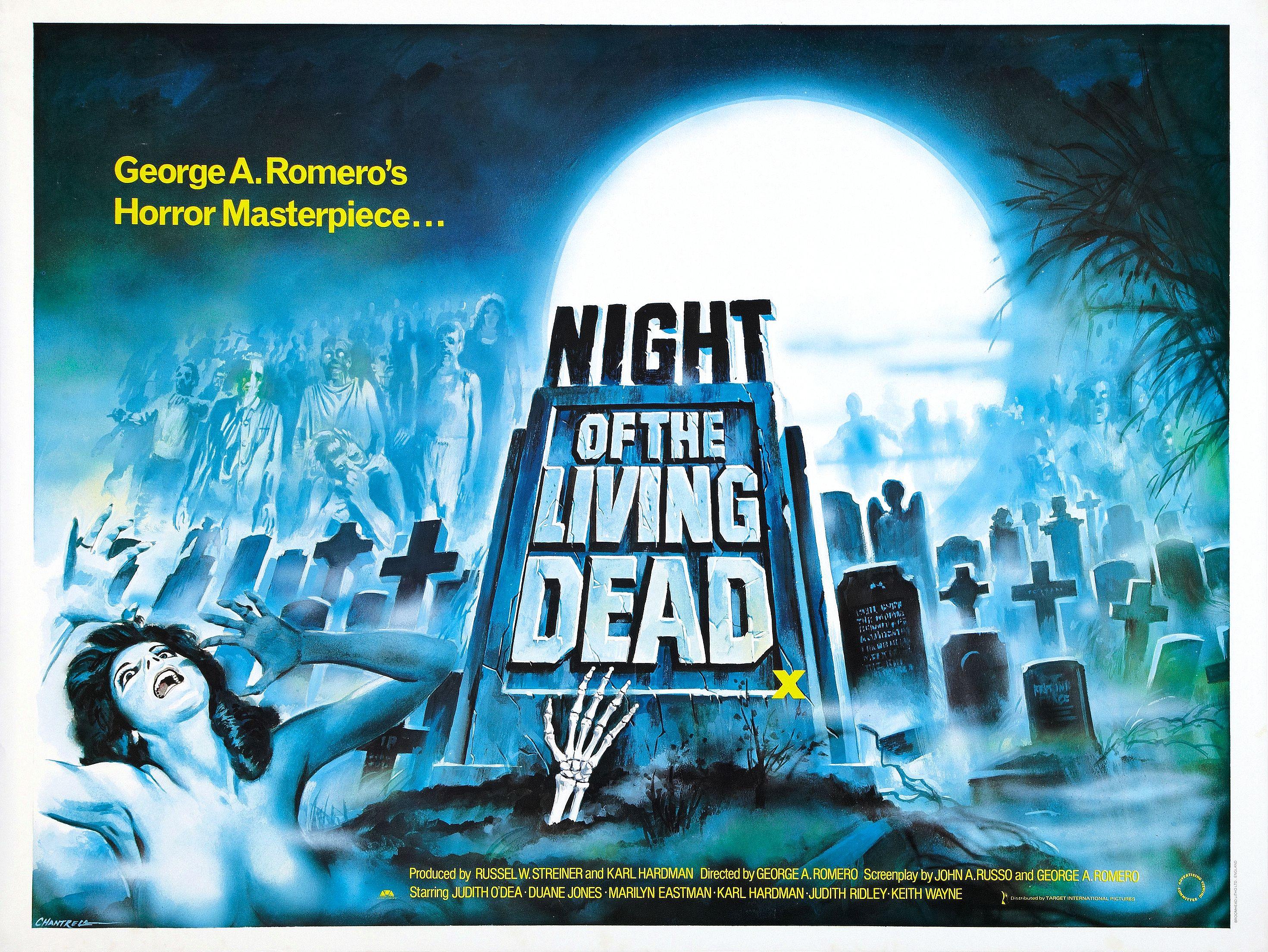 Night Of The Living Dead Fondo De Pantalla Hd Fondo De