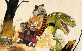 Cartoni - Calvin And Hobbes Wallpapers and Backgrounds ID : 27891