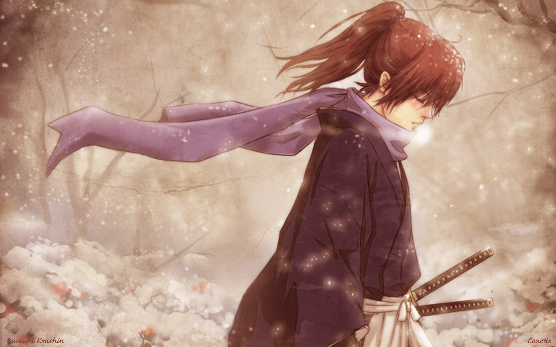 Rurouni kenshin full hd wallpaper and background image 1920x1200 anime rurouni kenshin wallpaper voltagebd Images