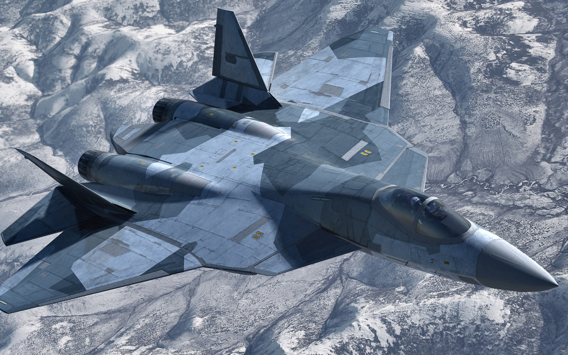 Sukhoi Su 57 Hd Wallpaper Background Image 1920x1200 Id Images, Photos, Reviews