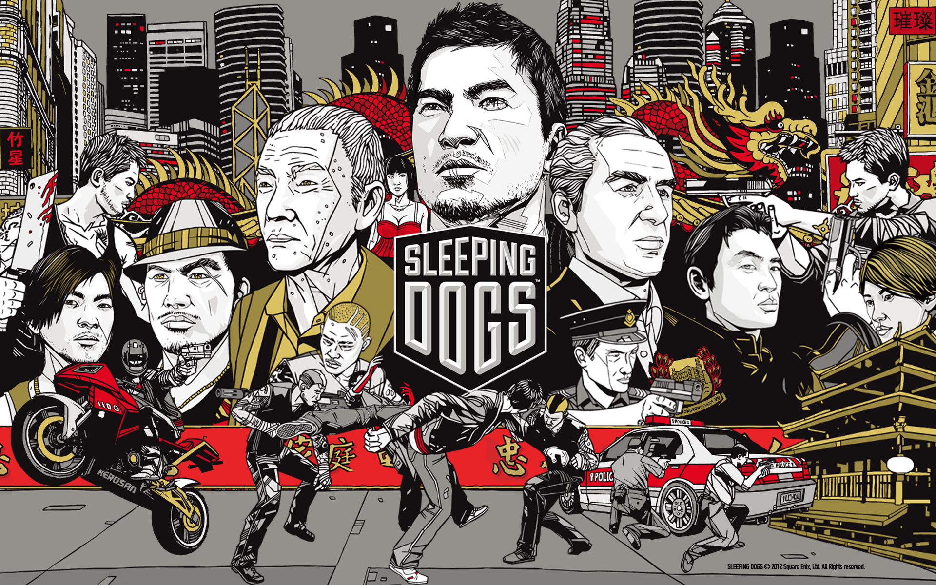 16 Sleeping Dogs HD Wallpapers | Backgrounds - Wallpaper Abyss