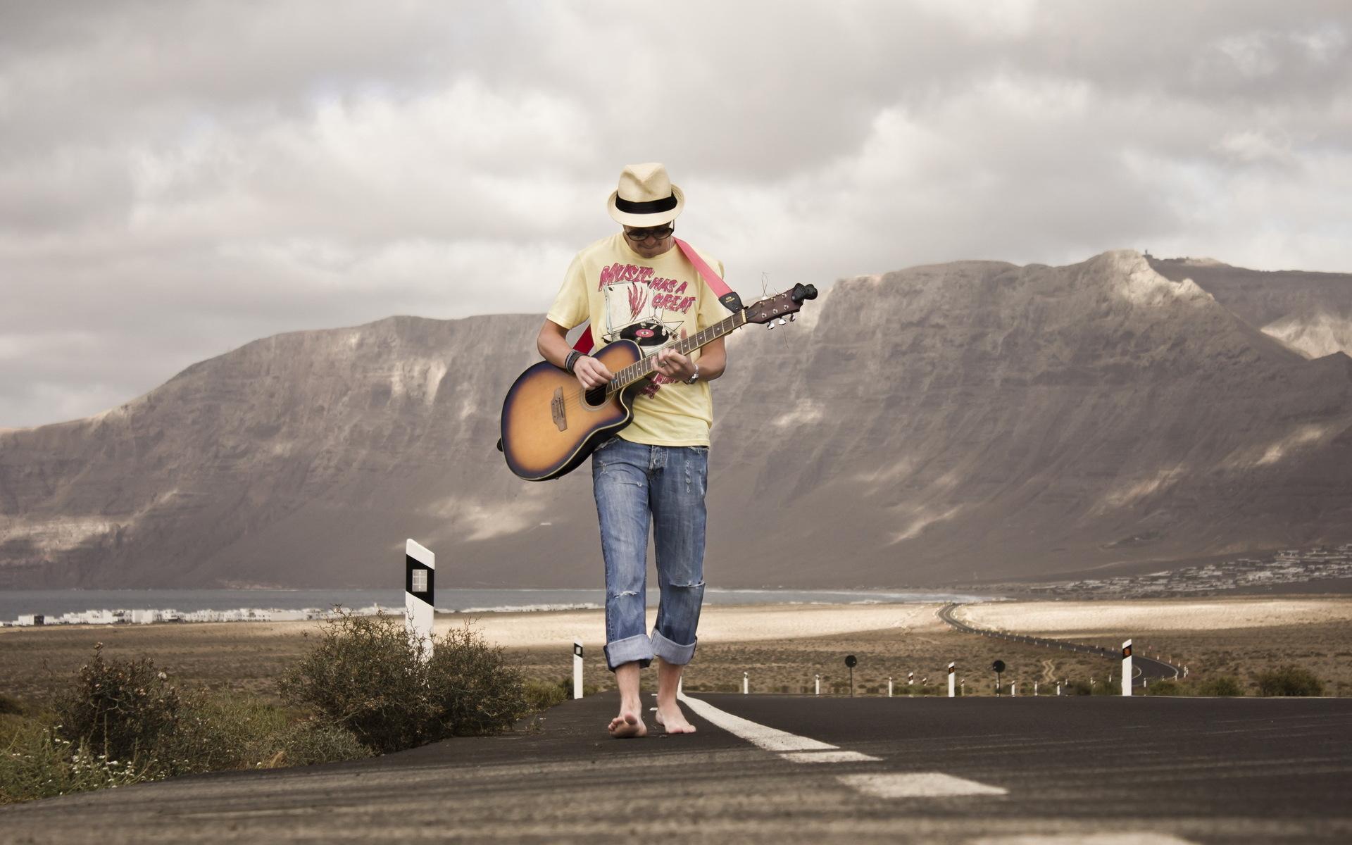 Обои Гитара, Человек, музыка. Музыка foto 18