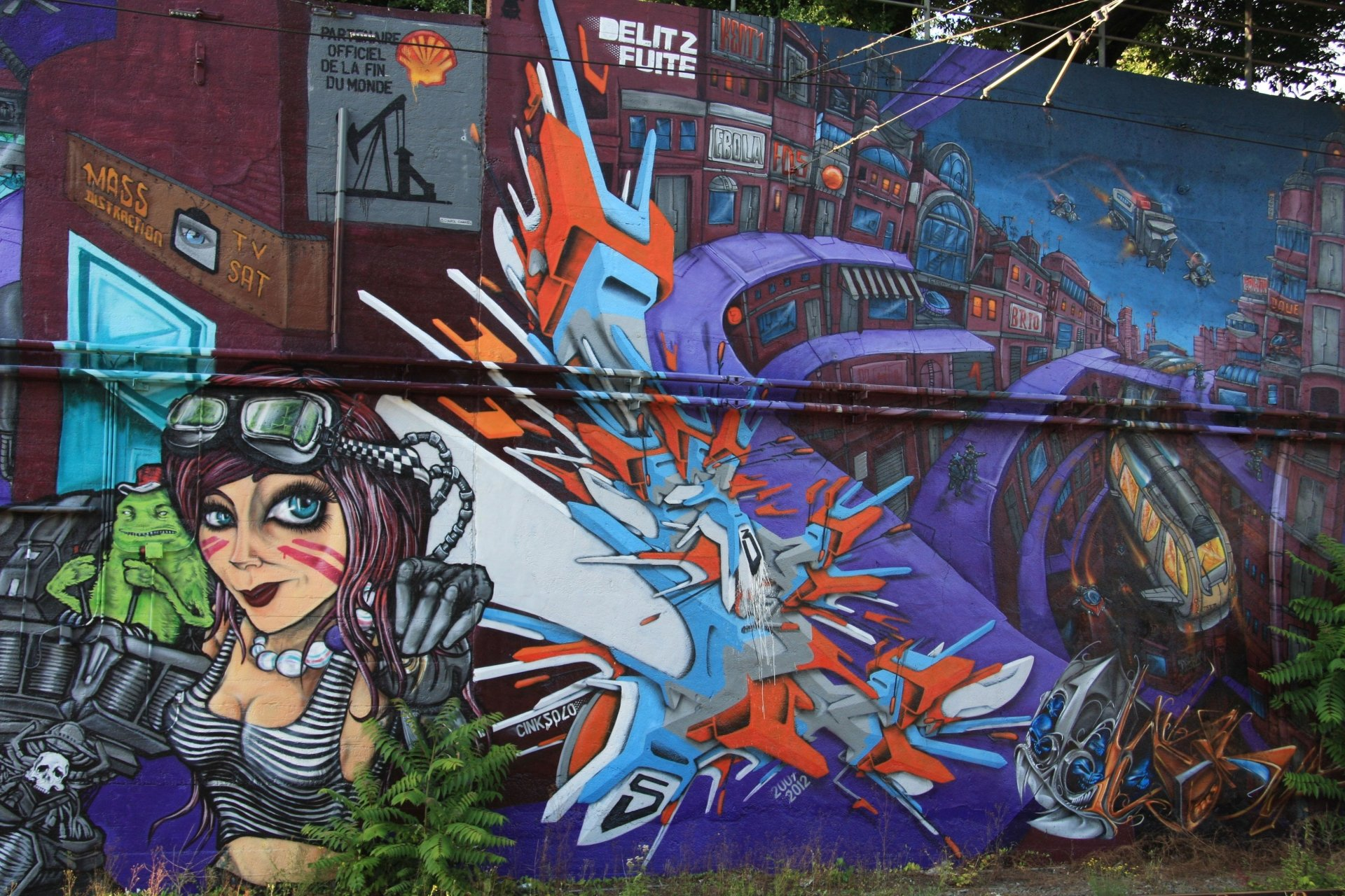 33 4K Ultra HD Graffiti Wallpapers | Background Images ...
