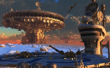 Sci Fi - Spaceport Wallpapers and Backgrounds ID : 280893
