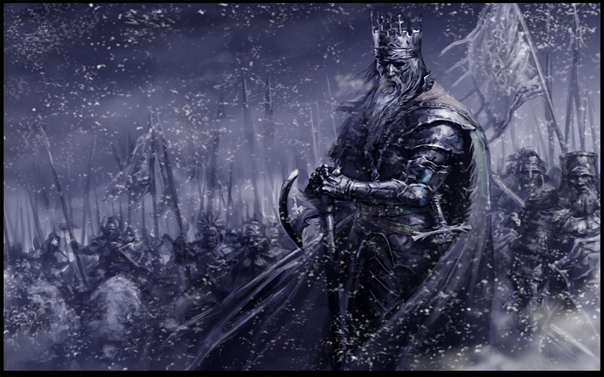 Winter king hd wallpaper background image 1920x1200 - Fantasy wallpaper pc ...