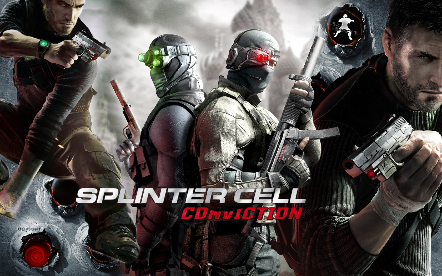 Tom Clancy S Splinter Cell Conviction Wallpaper And