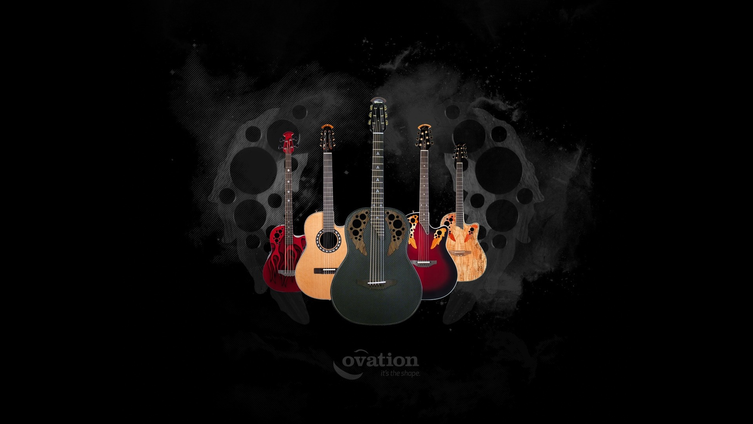 Ovation Guitars Full HD Wallpaper And Background Image