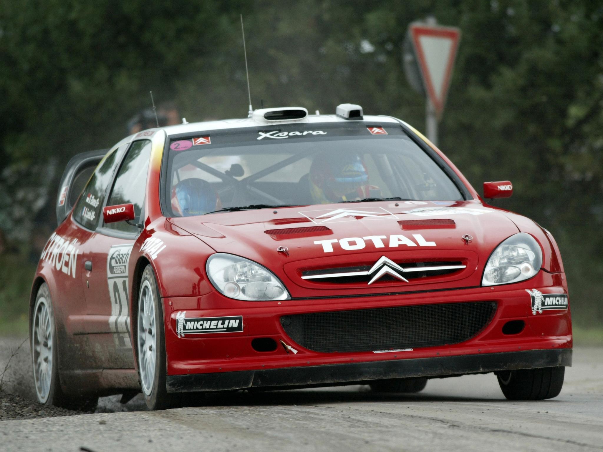Citroën Xsara WRC '2001–06 Papel de Parede HD | Plano de Fundo ...