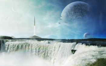 Sci Fi - Landscape Wallpapers and Backgrounds ID : 282801