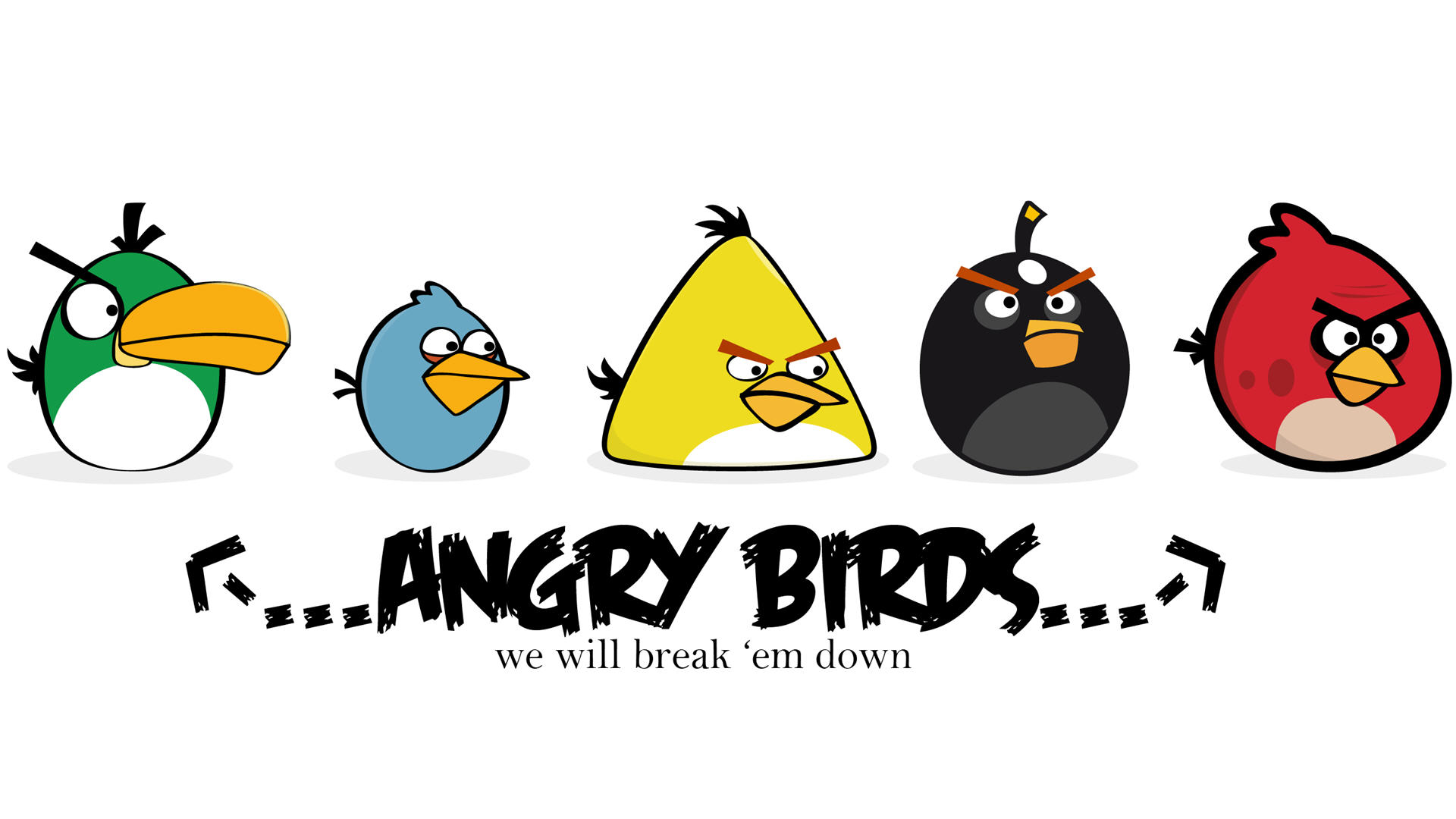 Angry Birds Full HD Wallpaper and Hintergrund | 1920x1080 ...