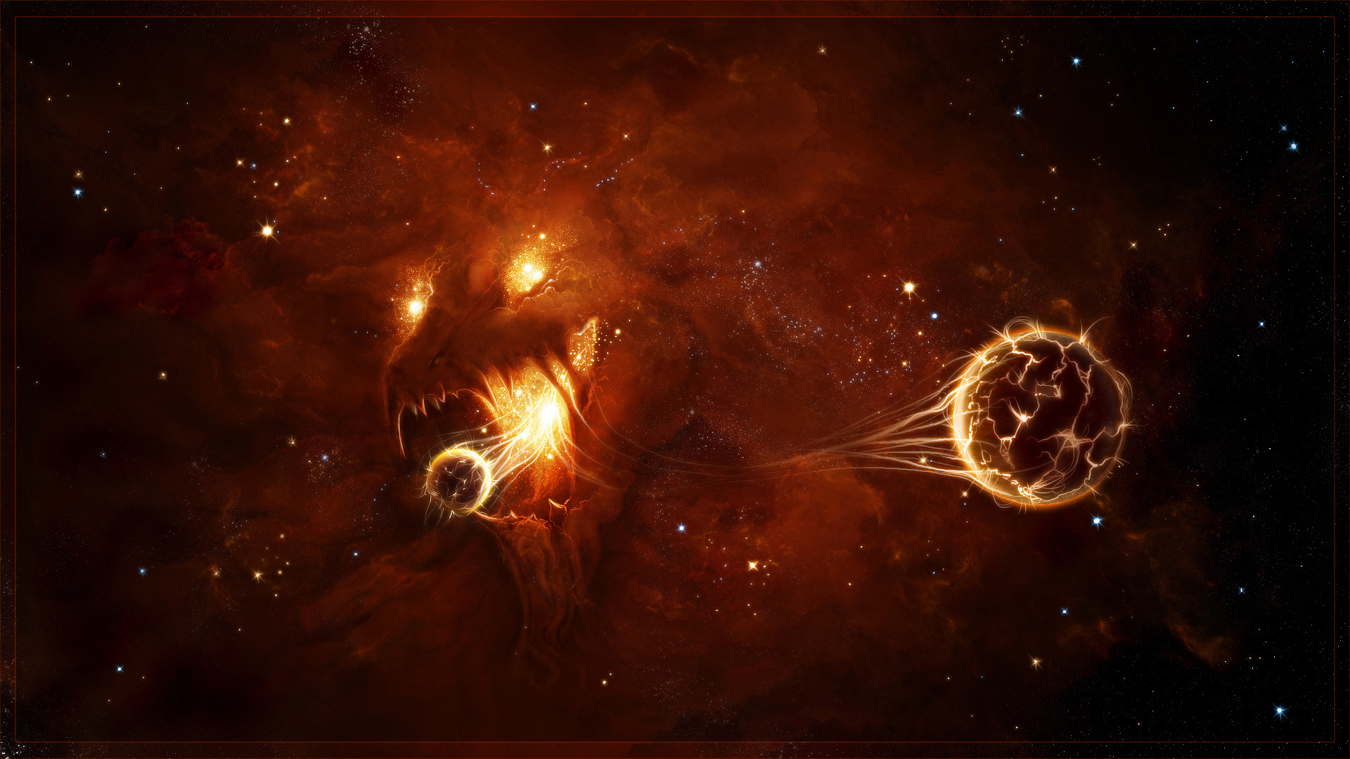 Black Hole Full HD Wallpaper and Background | 1920x1080 ...