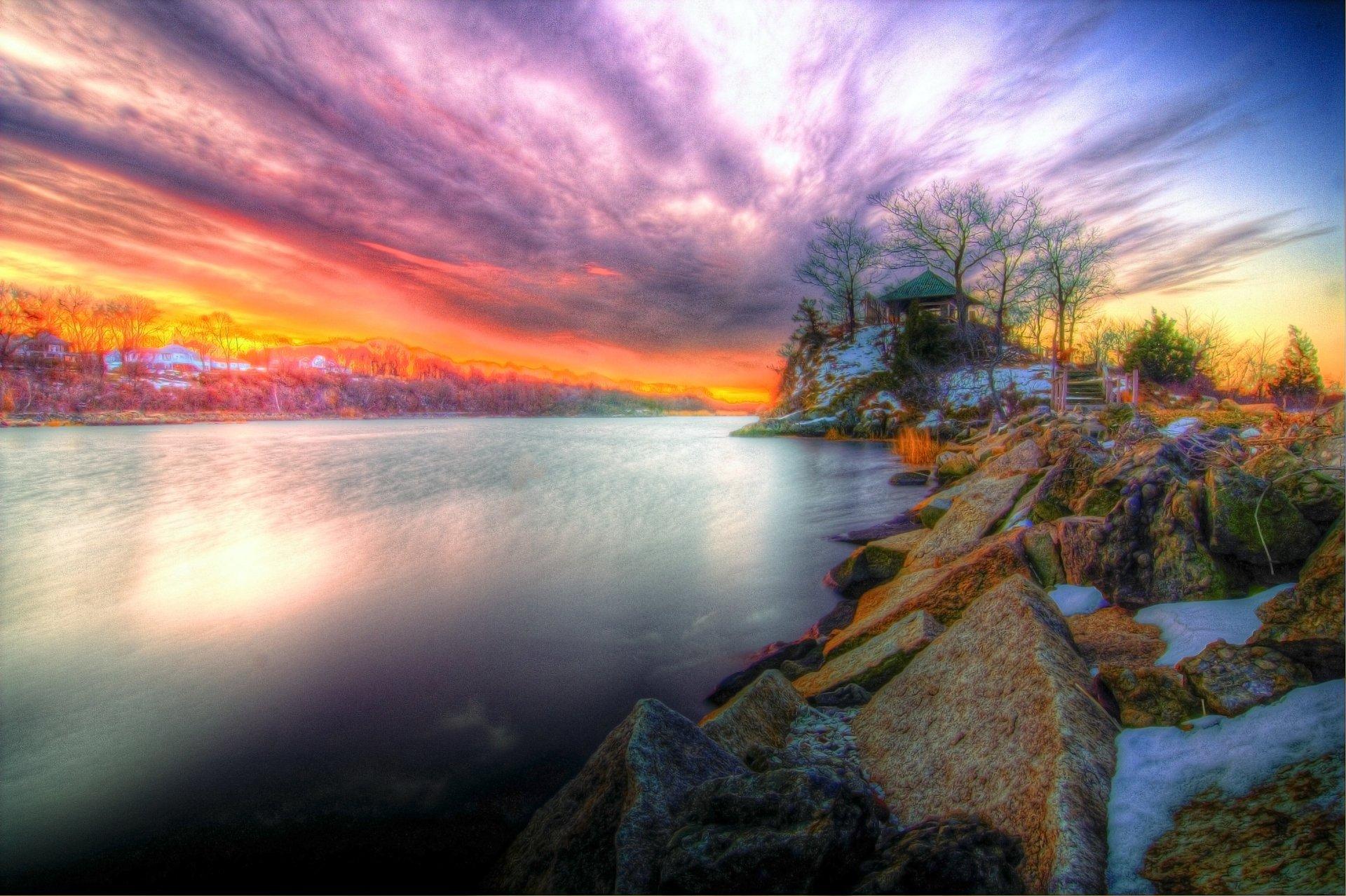 Sunset 4k Ultra HD Wallpaper   Background Image ...