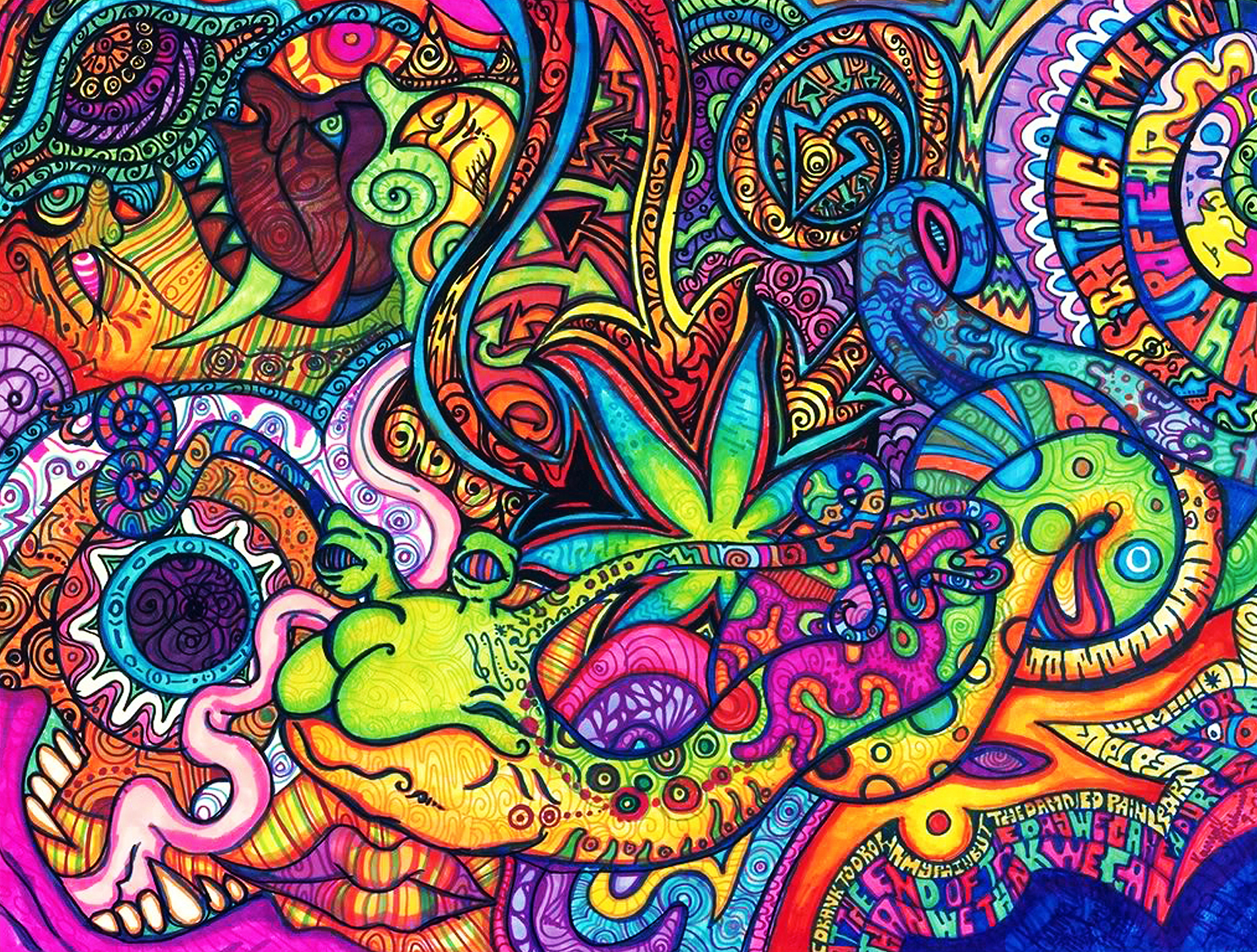 513 Psychedelic Hd Wallpapers Background Images