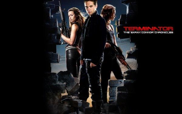 TV Show Terminator: The Sarah Connor Chronicles Terminator Sci Fi Summer Glau Thomas Dekker Lena Deadey Lena Headey John Connor Cameron Phillips HD Wallpaper | Background Image