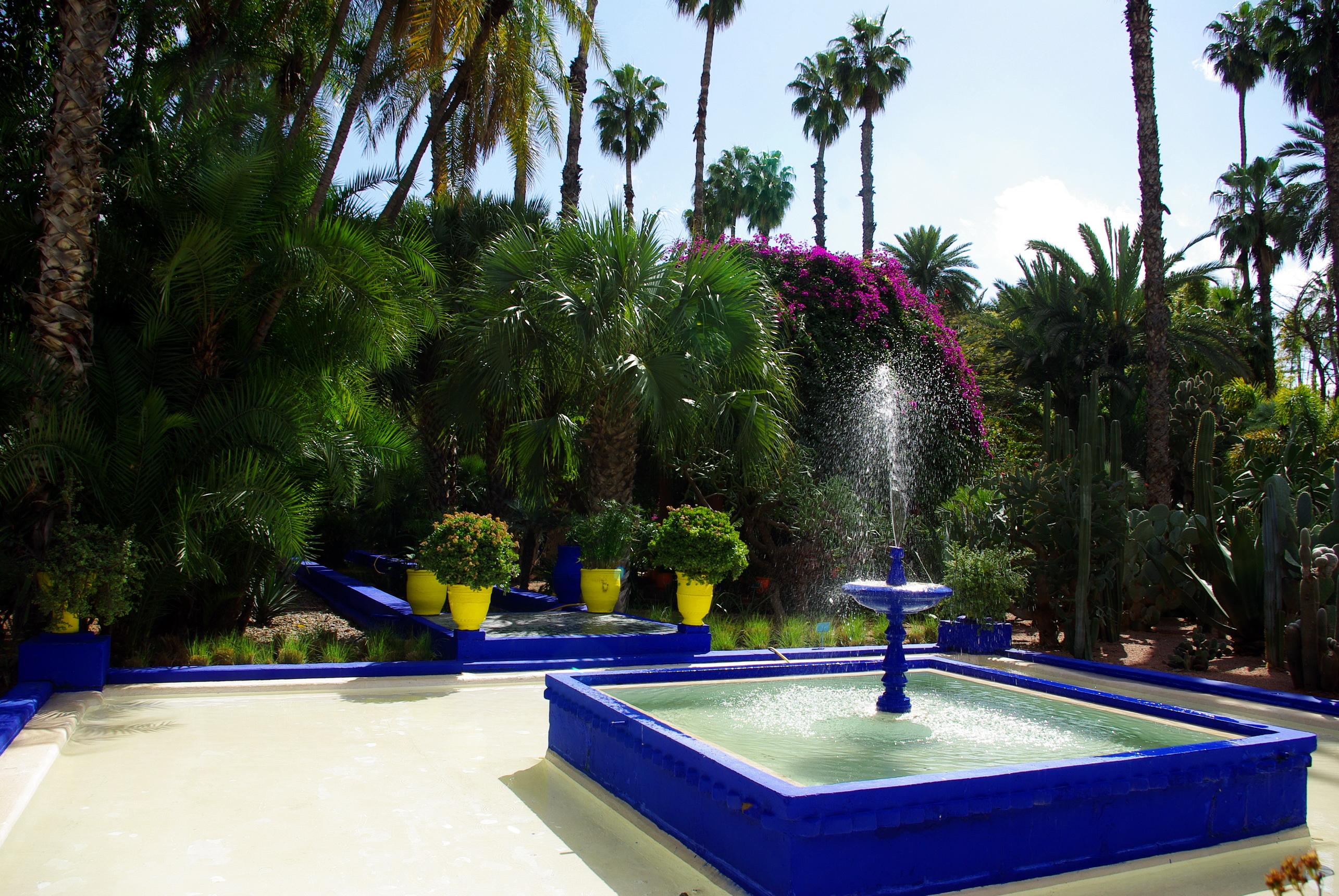 Morocco marrakech jardin majorelle full hd fond d 39 cran and arri re plan 2570x1720 id 285411 - Fond d ecran jardin anglais ...